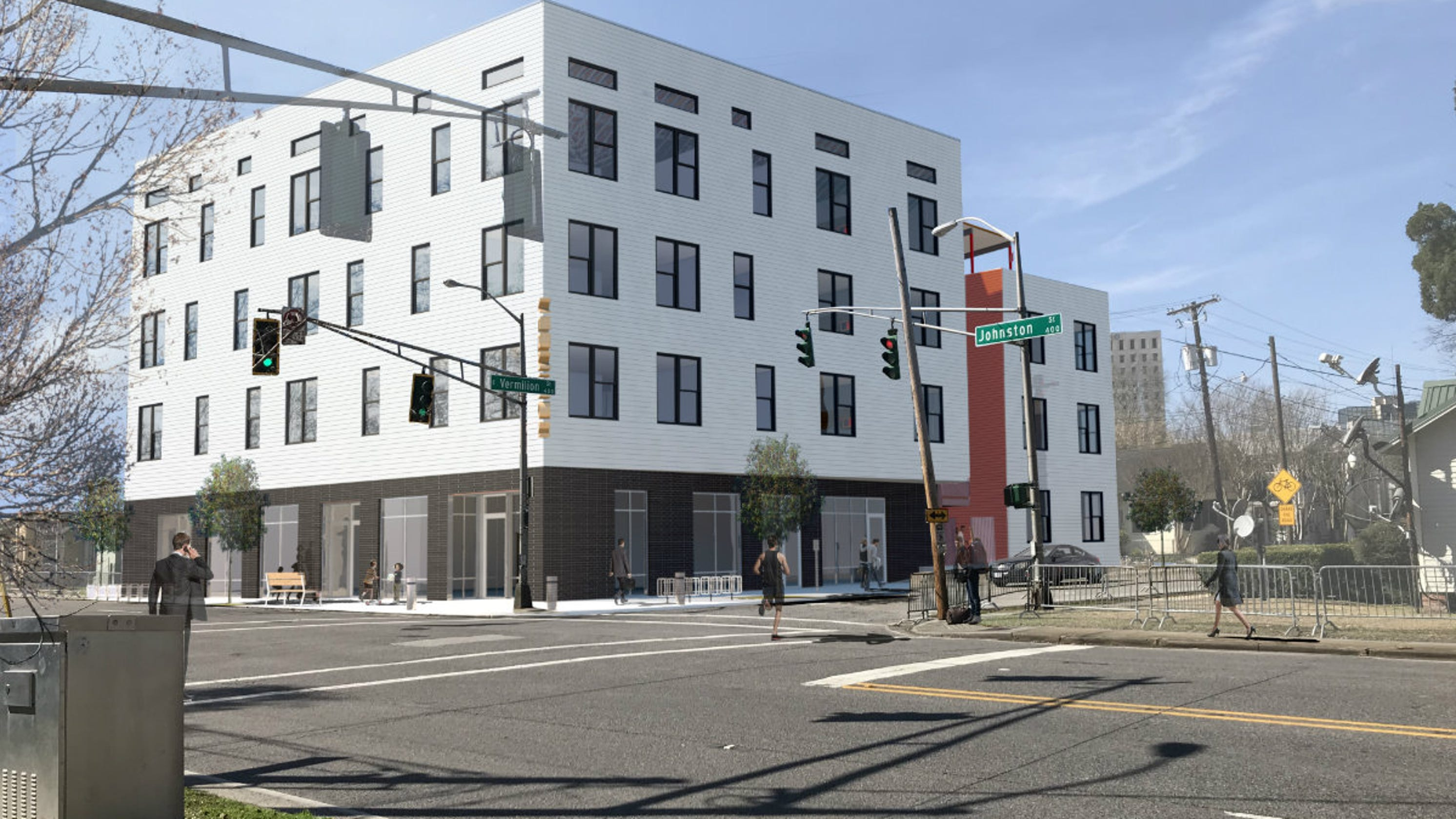 Groundbreaking Apartments Retail E Coming To Downtown Lafayette