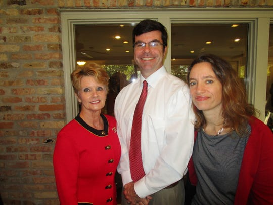 Judy Kennedy, Kevin Hager and Emily Blosser