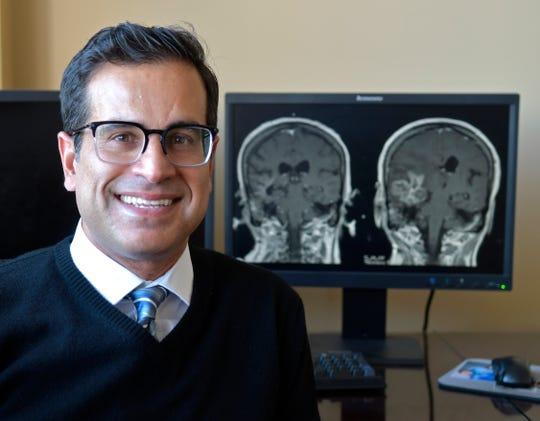 Dr. Shervin Dashti in his office.