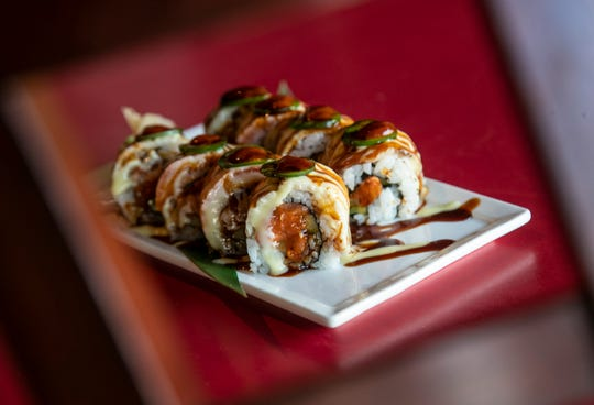 Executive Chef Gary O'Brien and chef Ronnie Herman are the two behind the sushi creations at Wild Ginger.