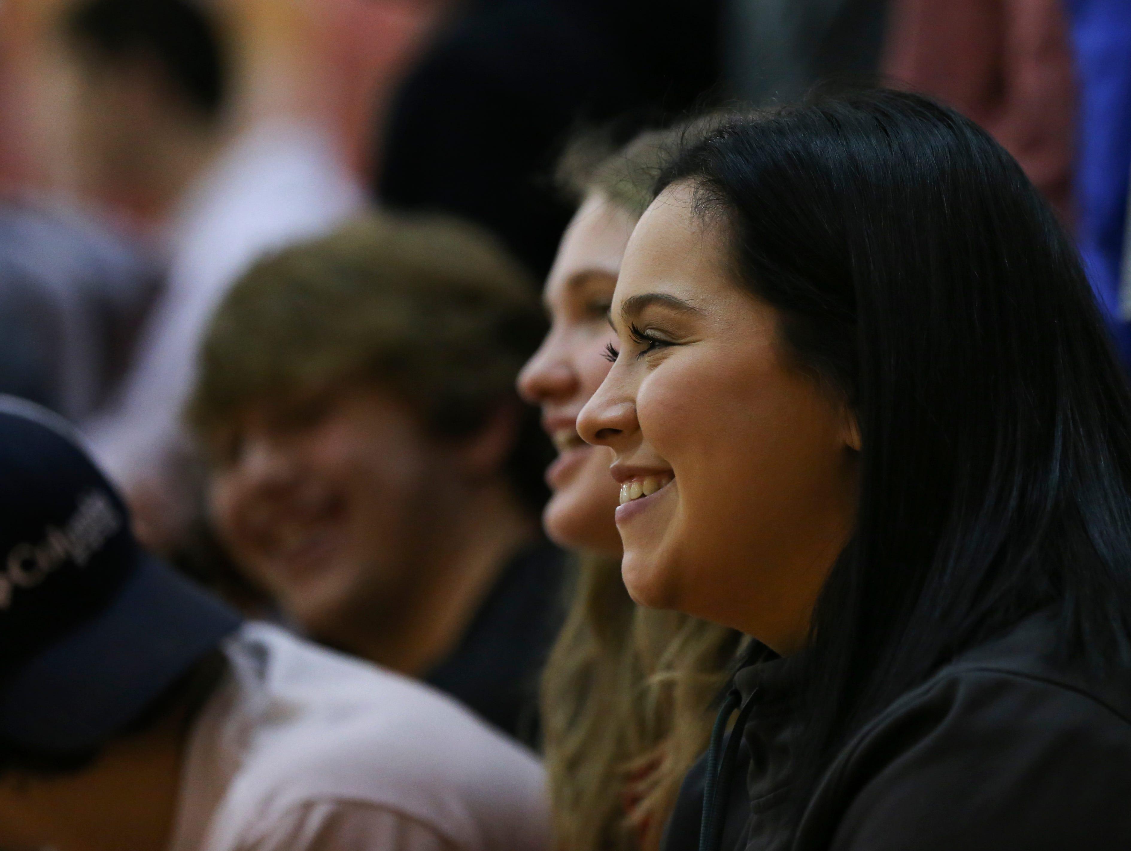 Fans watched Mercy against Bullitt East at the Bullitt East High School.Jan. 9, 2019