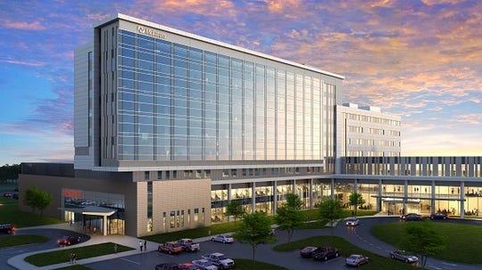 The 240-bed hospital is being designed from the ground up.