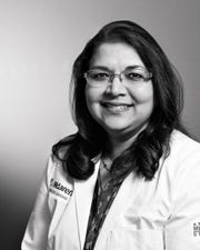 Dr. Sucheta Ambekar, who has worked at McLaren Greater Lansing since 2015, contributes to the fund.