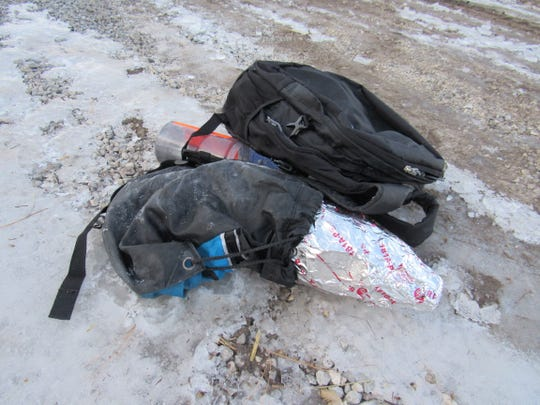 A backpack found near State Hwy 147 in Gibson contained a bomb-like device. Personnel from the Manitowoc County Metro Drug Unit and the Outagamie/Brown County Bomb Squad were able to safely remove the backpack and it's items Wednesday afternoon.
