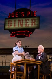 "American pie: Laughs and life lessons will be on the menu if you see Christine Dwyer and Richard Kline in ""Waitress."""