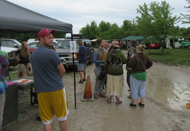 Guests attend the Wisco Family Love Fest, in Elkhorn, in June.