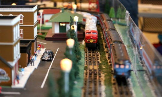 "This year's model-train show at the Mitchell Park Domes has a ""Miniature Milwaukee"" theme."