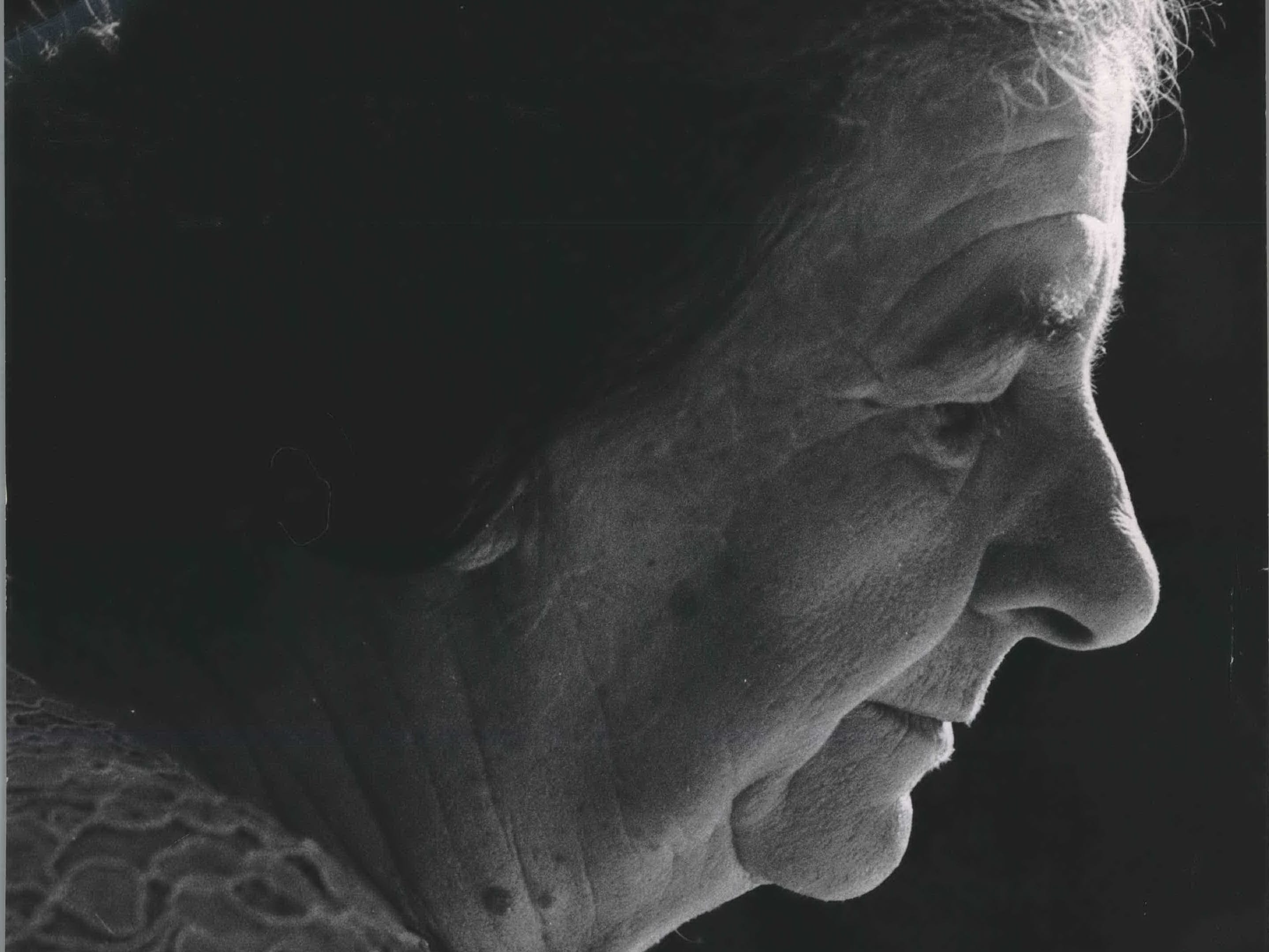This picture of Mrs. Golda Meir (Myerson) in a contemplative mood was made by a Journal photographer in 1960. The former Milwaukeean is Israel's minister for foreign affairs.