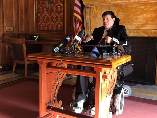 Rep. Jimmy Anderson, D-Fitchburg, said lawmakers violated the open meetings law by not accommodating his disabilities during an overnight legislative session in December.
