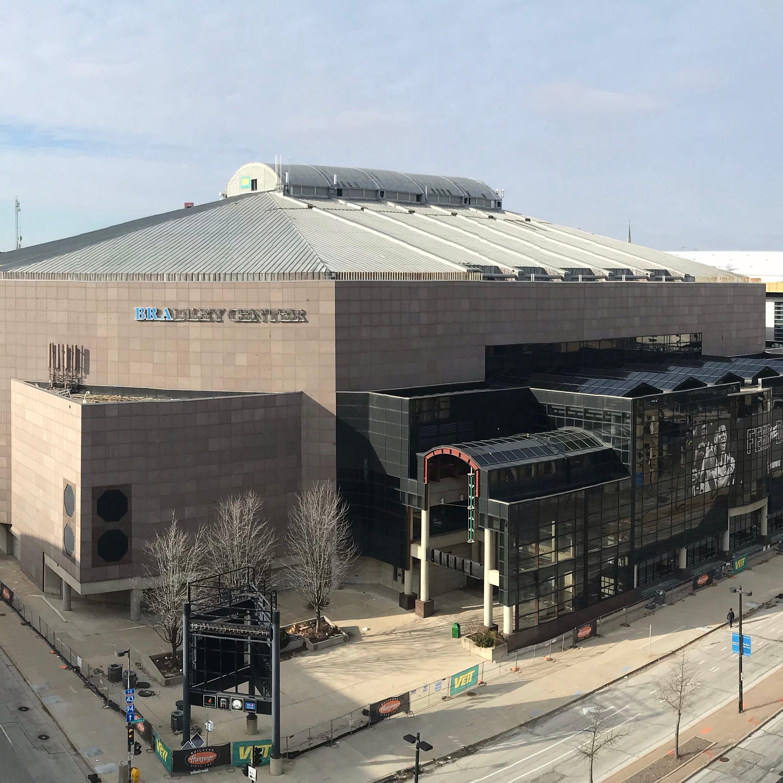 Live Video: Bradley Center roof demolition