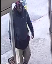 This man has been identified as a suspect in the Dec. 19 robbery of an elderly person at Mac's Fresh Market on Winnsboro Road.