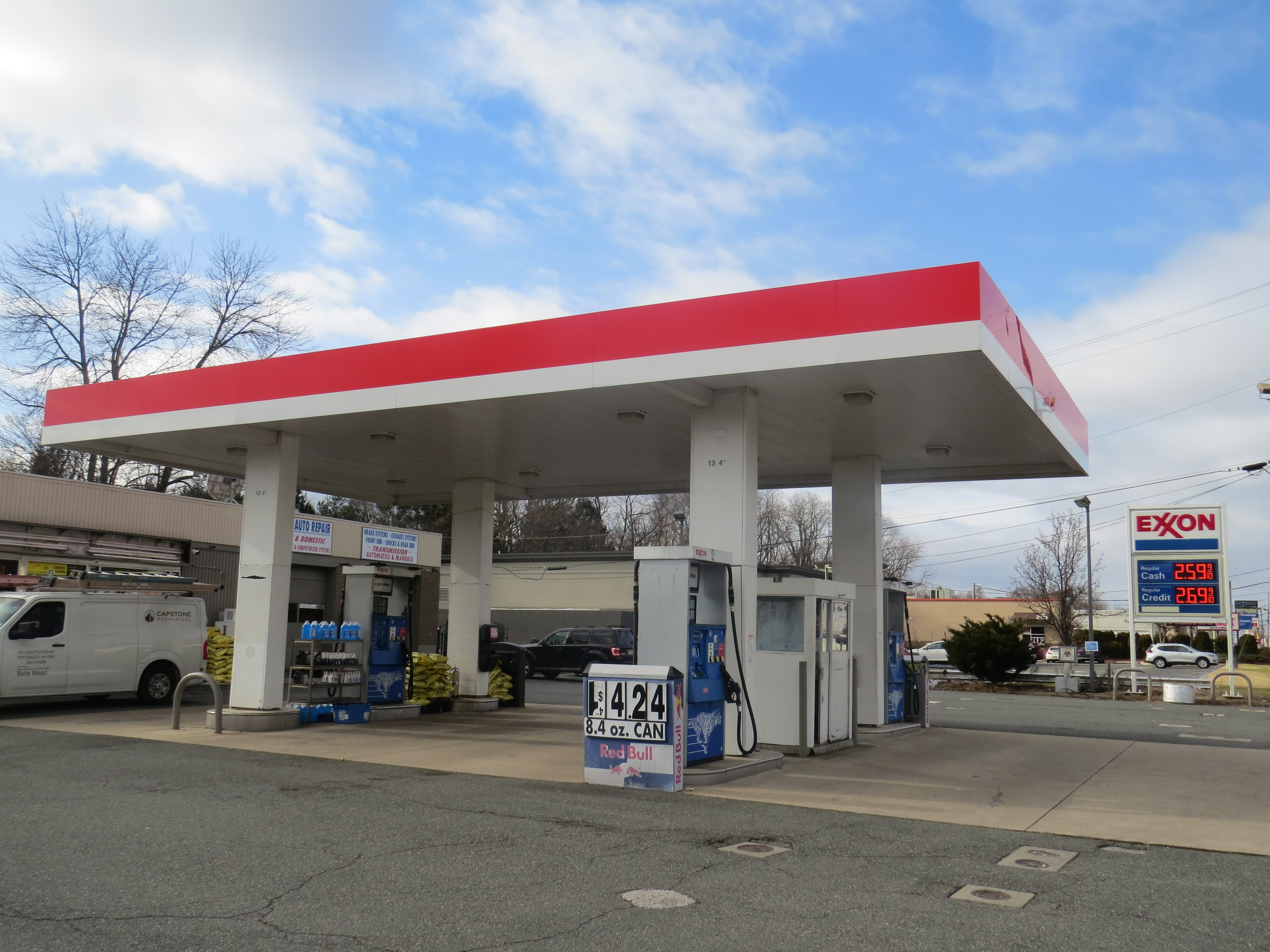 This Exxon service station on Route 10 east in East Hanover was open on Thursday, Jan. 10, 2019, after a late-not armed robbery.