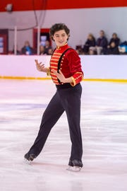 Antonio Monaco, a 13-year-old from High Bridge will compete at U.S. Figure Skating juvenile nationals