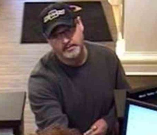 Prattville Police are seeking this man as a suspect in a Thursday morning bank robbery.