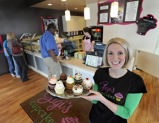The Gigi's Cupcakes in Montgomery, co-owned by Jennifer Cooper, led the chain in sales in 2012.