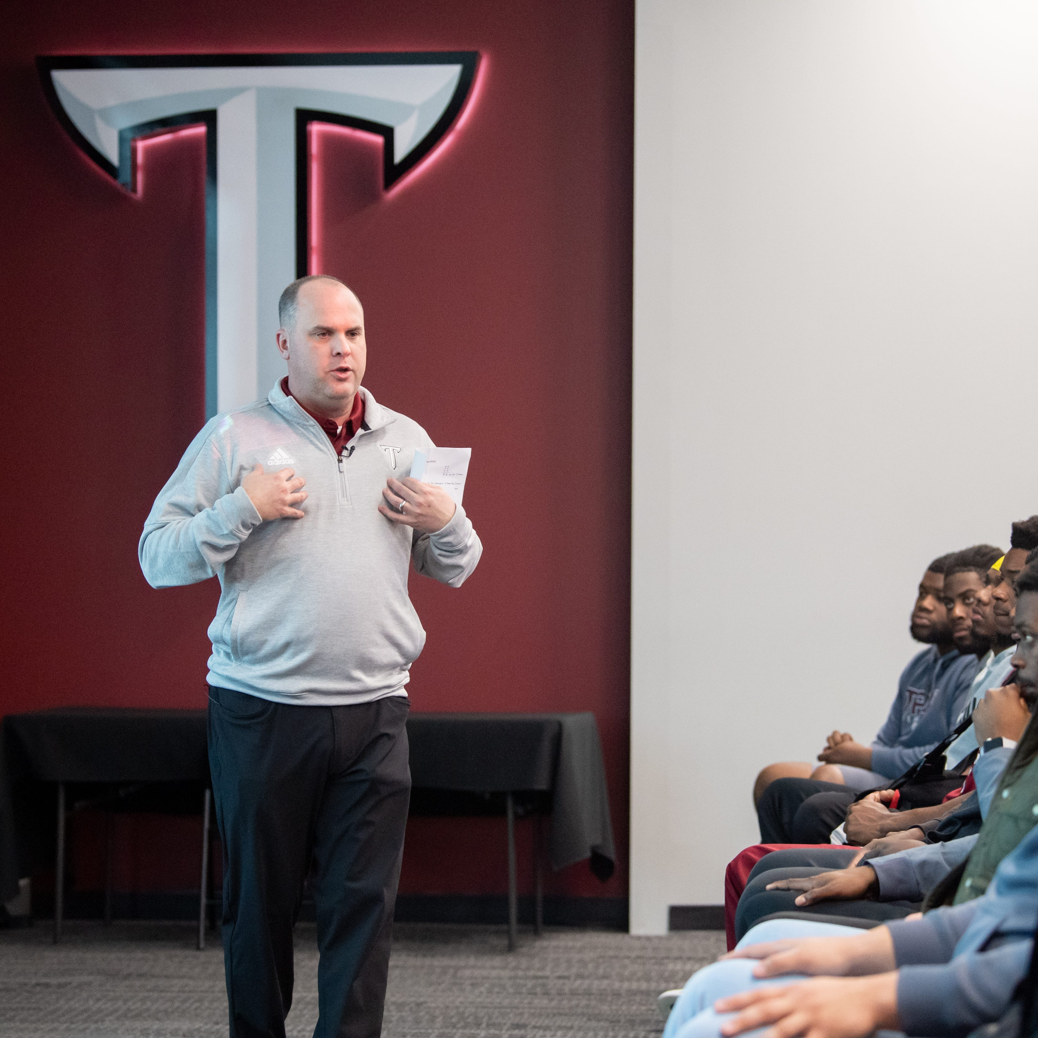 Chip Lindsey makes quick impression on Troy Trojans