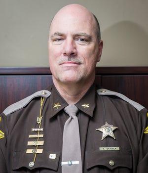 Sheriff Tony Skinner at the Delaware County Justice Center Thursday, Jan. 10, 2019.