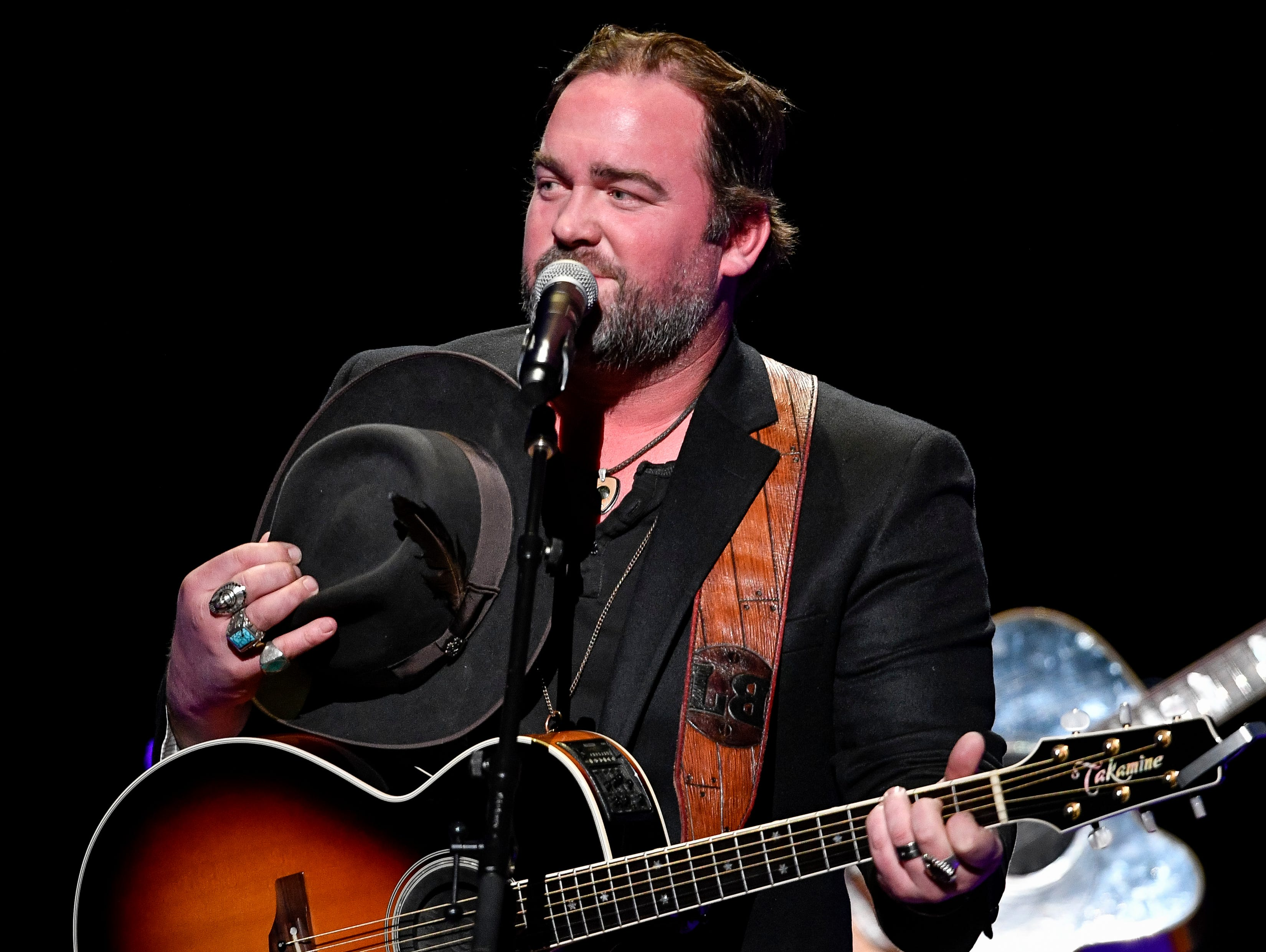 Lee Brice performs during the C'Ya On The Flipside Benefit Concert at the Grand Ole Opry House in Nashville, Tenn., Wednesday, Jan. 9, 2019.