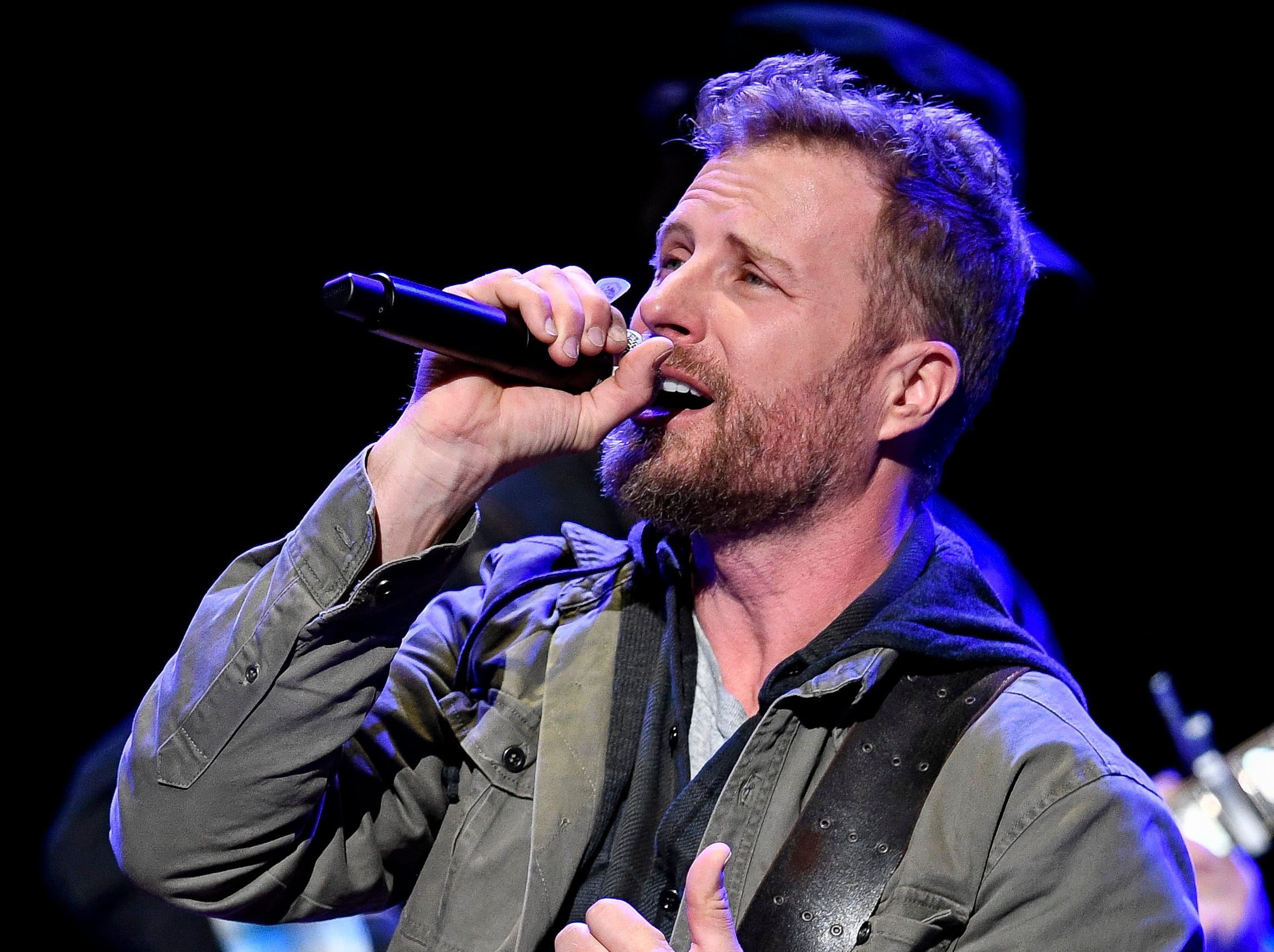 Dierks Bentley performs during the C'Ya On The Flipside Benefit Concert at the Grand Ole Opry House in Nashville, Tenn., Wednesday, Jan. 9, 2019.