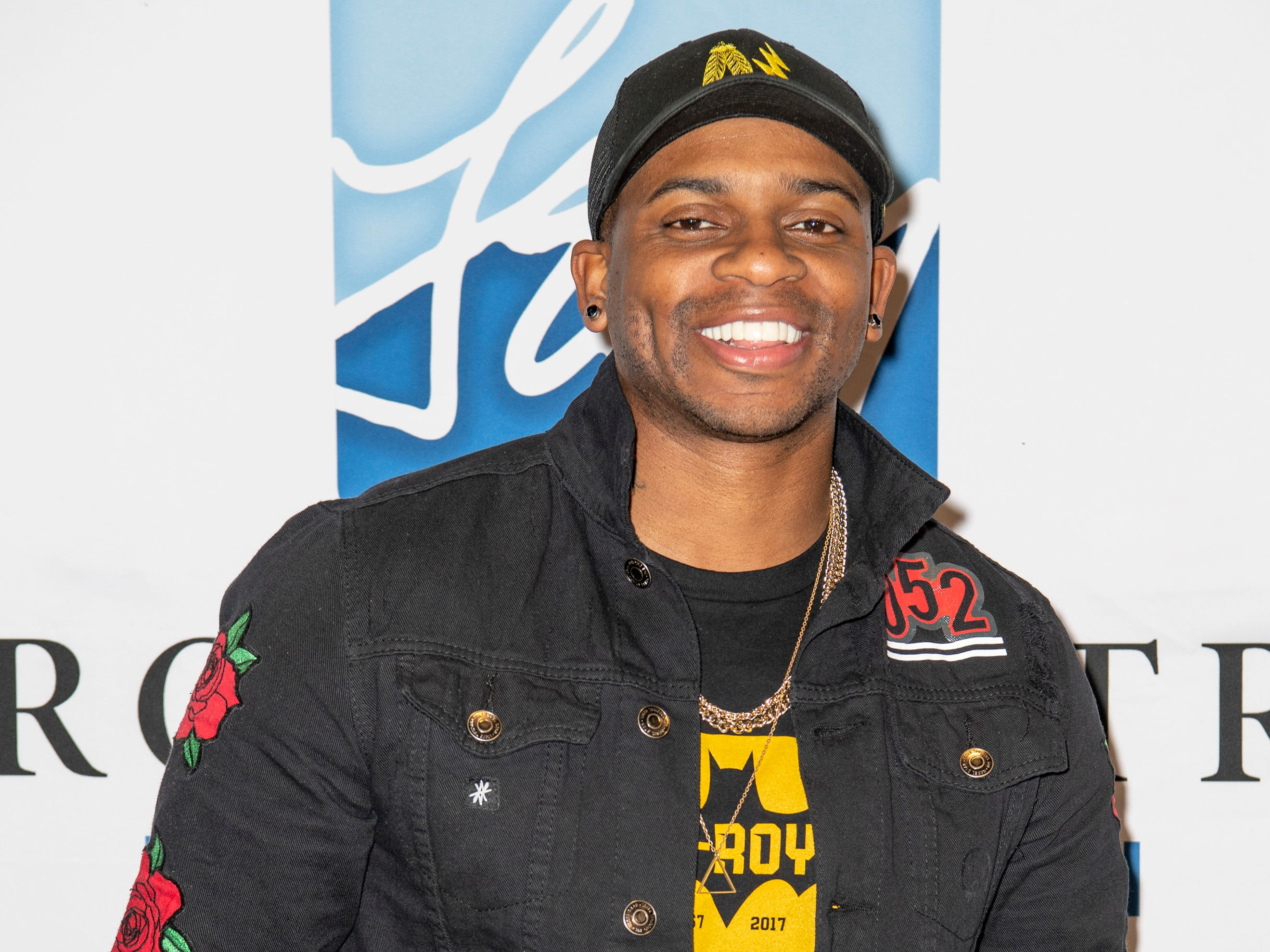 Jimmie Allen on the red carpet before the C'Ya On The Flipside Benefit Concert at the Grand Ole Opry House in Nashville, Tenn., Wednesday, Jan. 9, 2019.