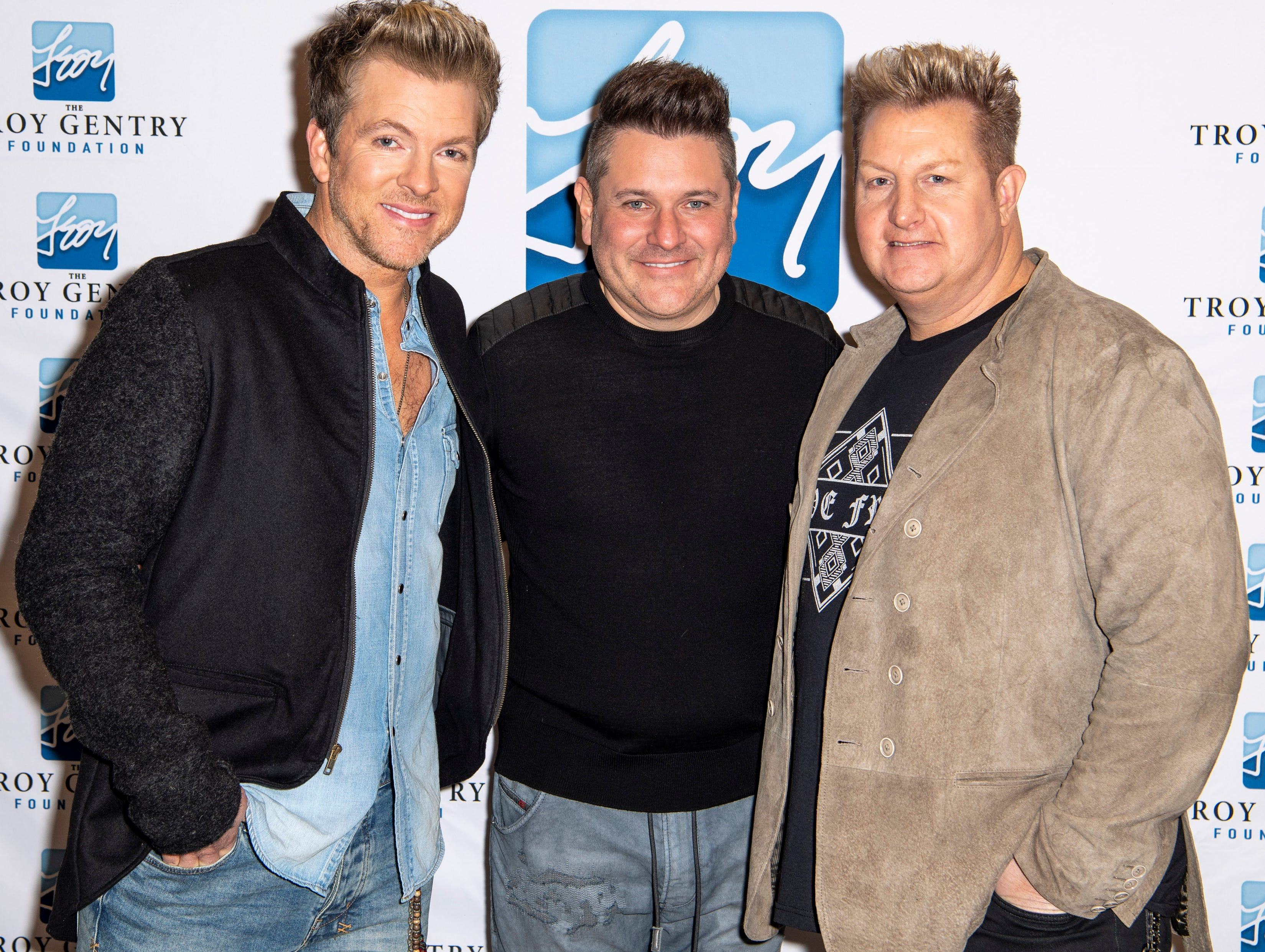 Rascal Flatts on the red carpet before the C'Ya On The Flipside Benefit Concert at the Grand Ole Opry House in Nashville, Tenn., Wednesday, Jan. 9, 2019.