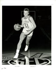 "Adolph ""Chip"" Rupp III, the grandson of the iconic Kentucky basketball coach, played for Vanderbilt in the 1980s."