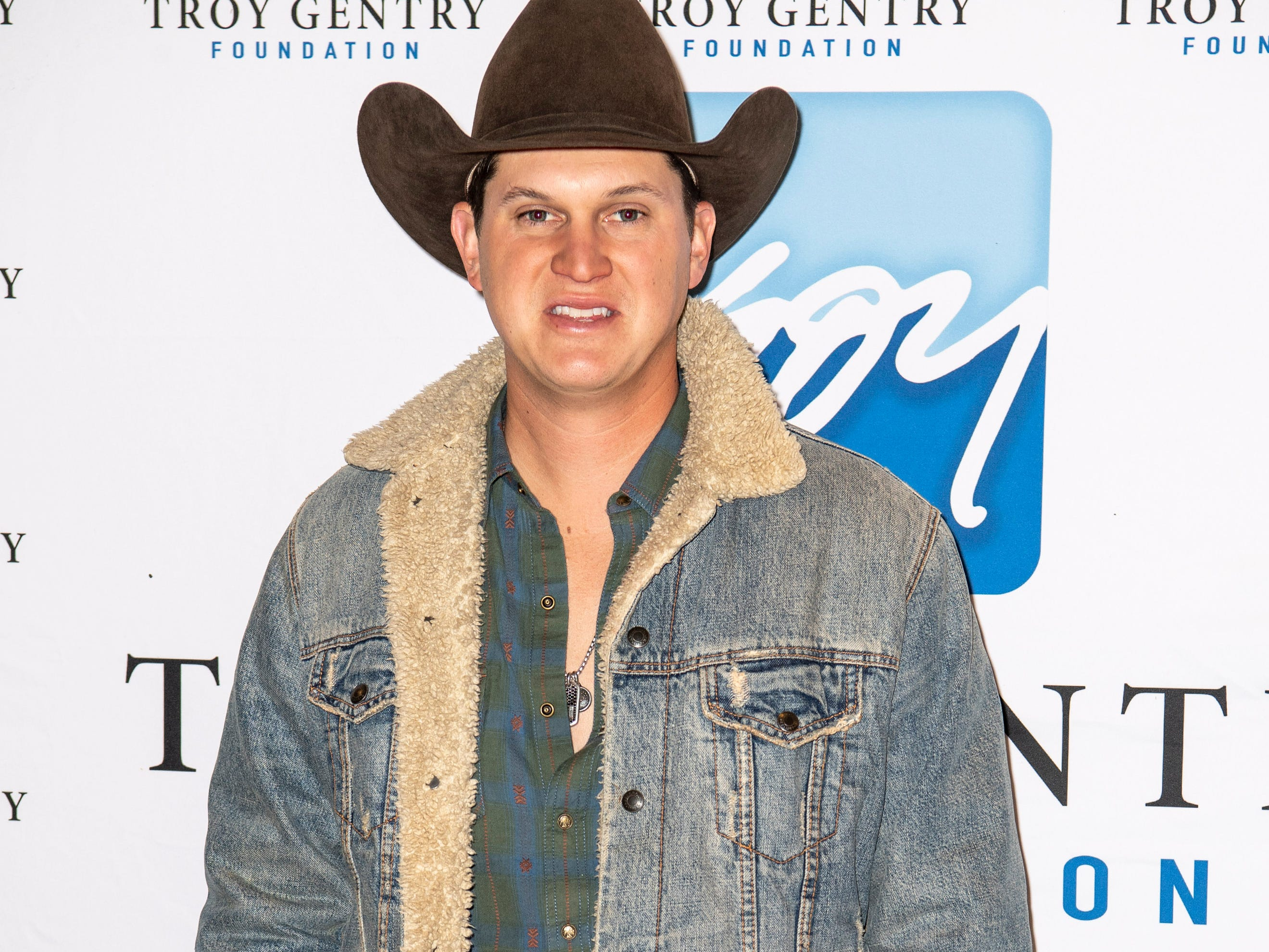 Jon Pardi on the red carpet before the C'Ya On The Flipside Benefit Concert at the Grand Ole Opry House in Nashville, Tenn., Wednesday, Jan. 9, 2019.