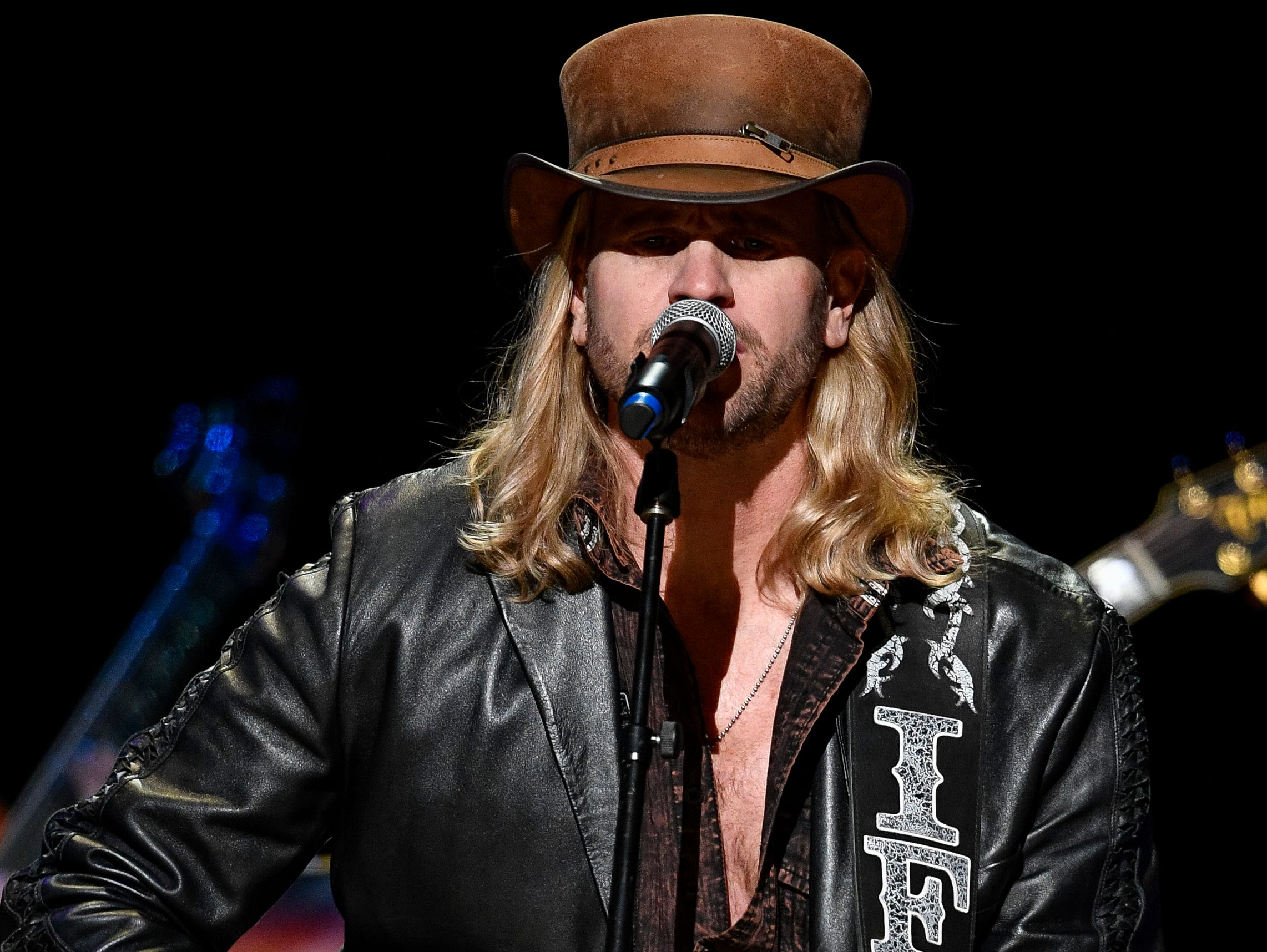 Ira Dean performs during the C'Ya On The Flipside Benefit Concert at the Grand Ole Opry House in Nashville, Tenn., Wednesday, Jan. 9, 2019.