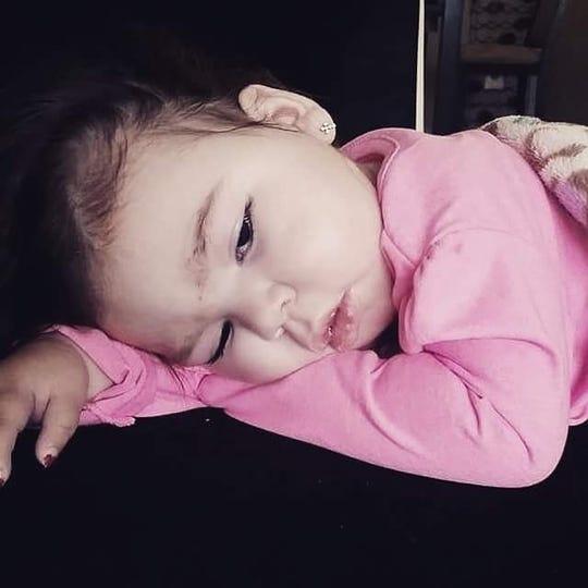 Alia Plant, daughter of professional boxer Caleb Plant.