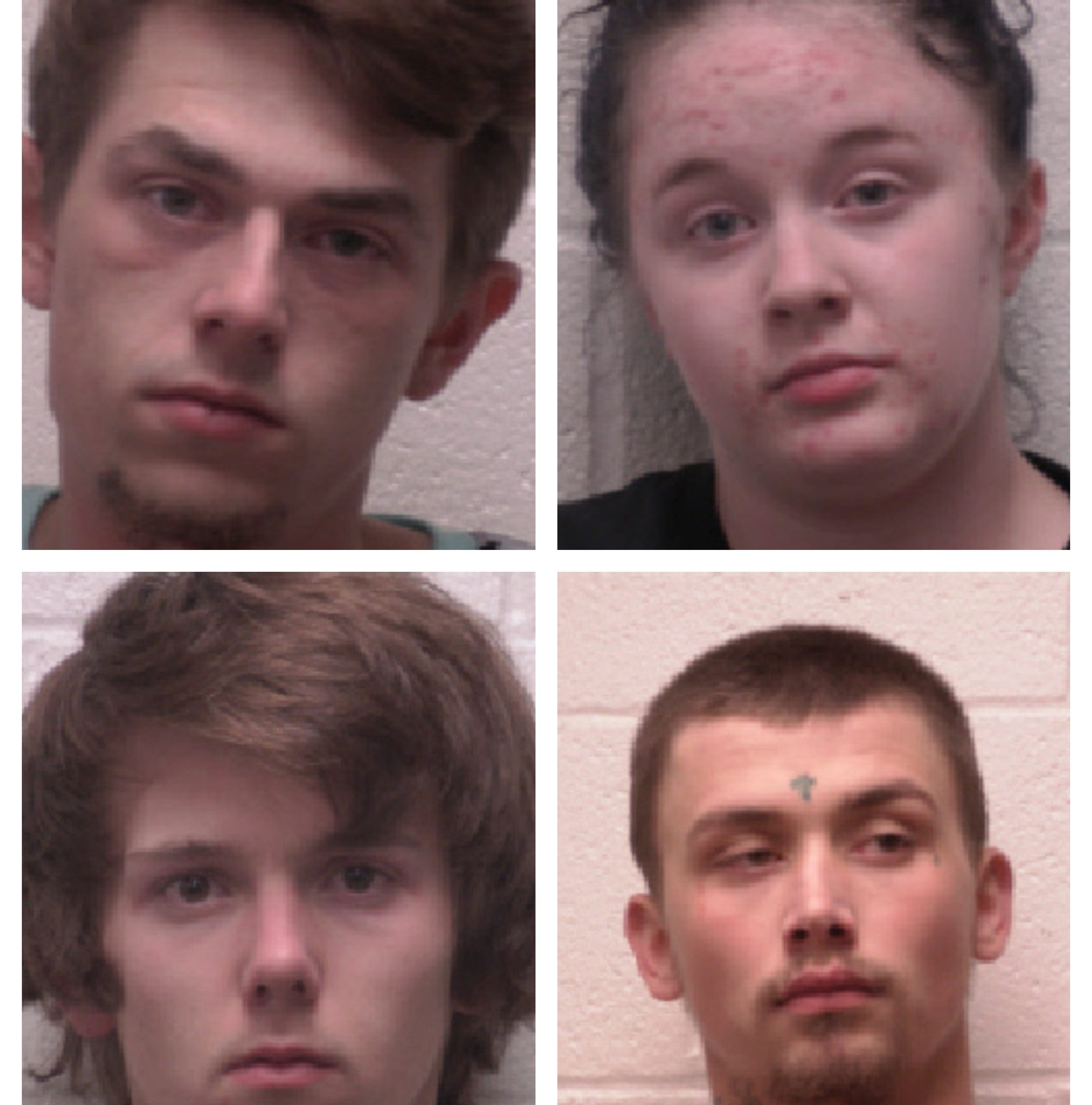Four charged in Coopertown drive-by shooting