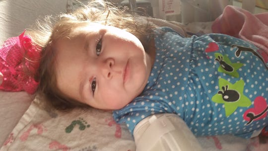 Alia Plant, daughter of professional boxer Caleb Plant, suffered seizures from birth.