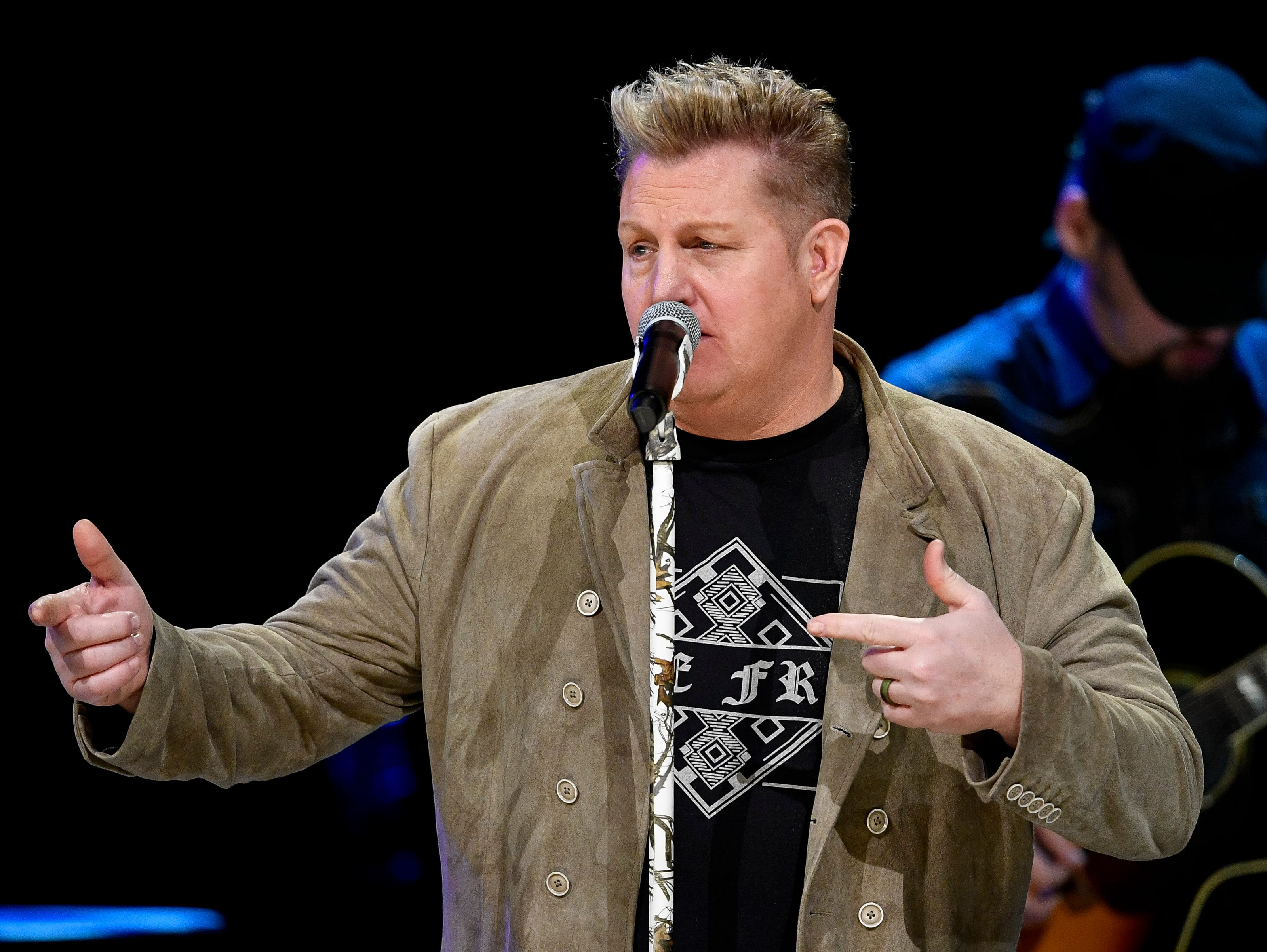 Rascal Flatts performs during the C'Ya On The Flipside Benefit Concert at the Grand Ole Opry House in Nashville, Tenn., Wednesday, Jan. 9, 2019.