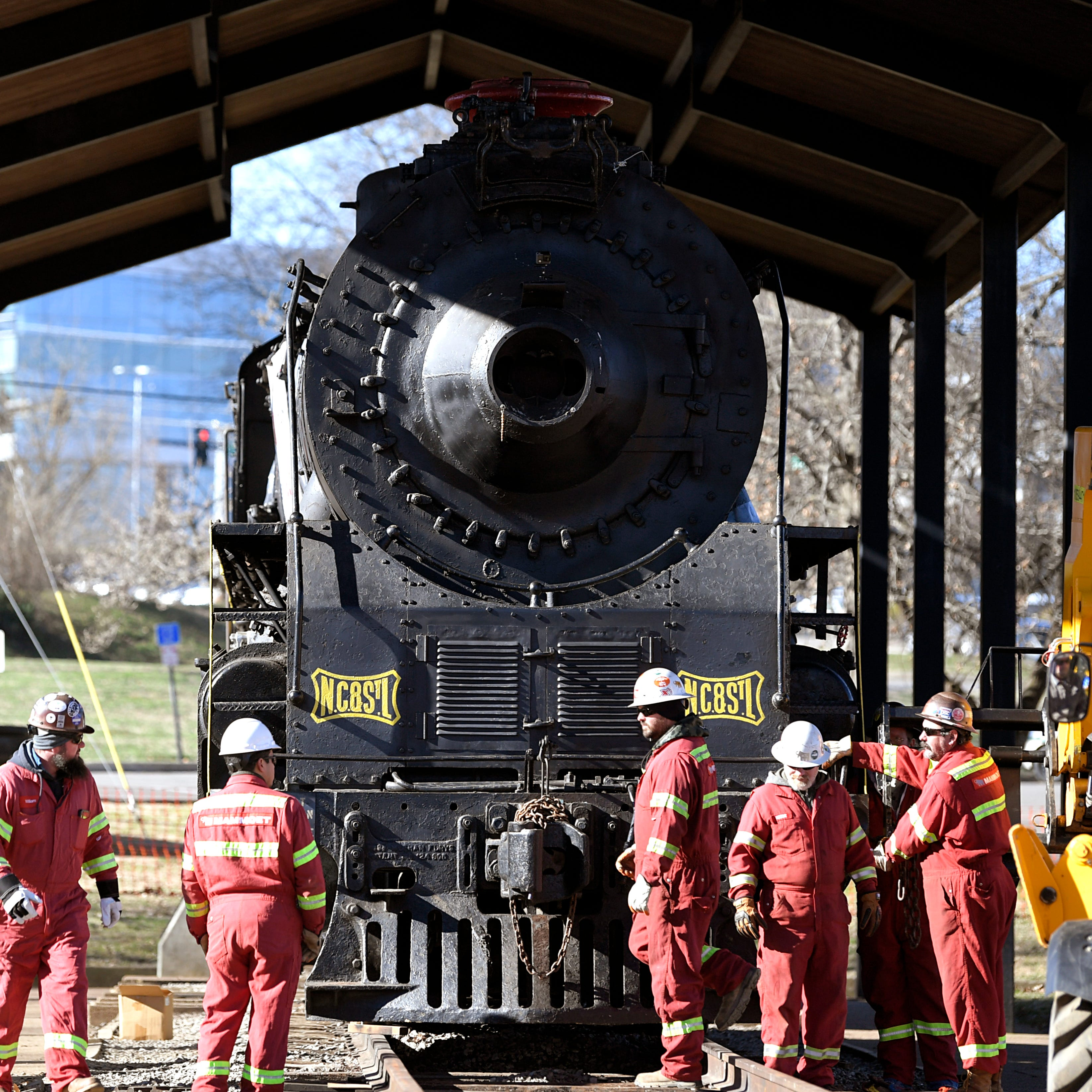 World War II-era steam locomotive in Centennial Park will be revived to carry passengers