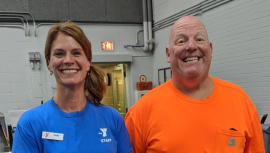 Rob found a way to feel better – both physically and emotionally – while trying to lose 50 pounds at the YMCA