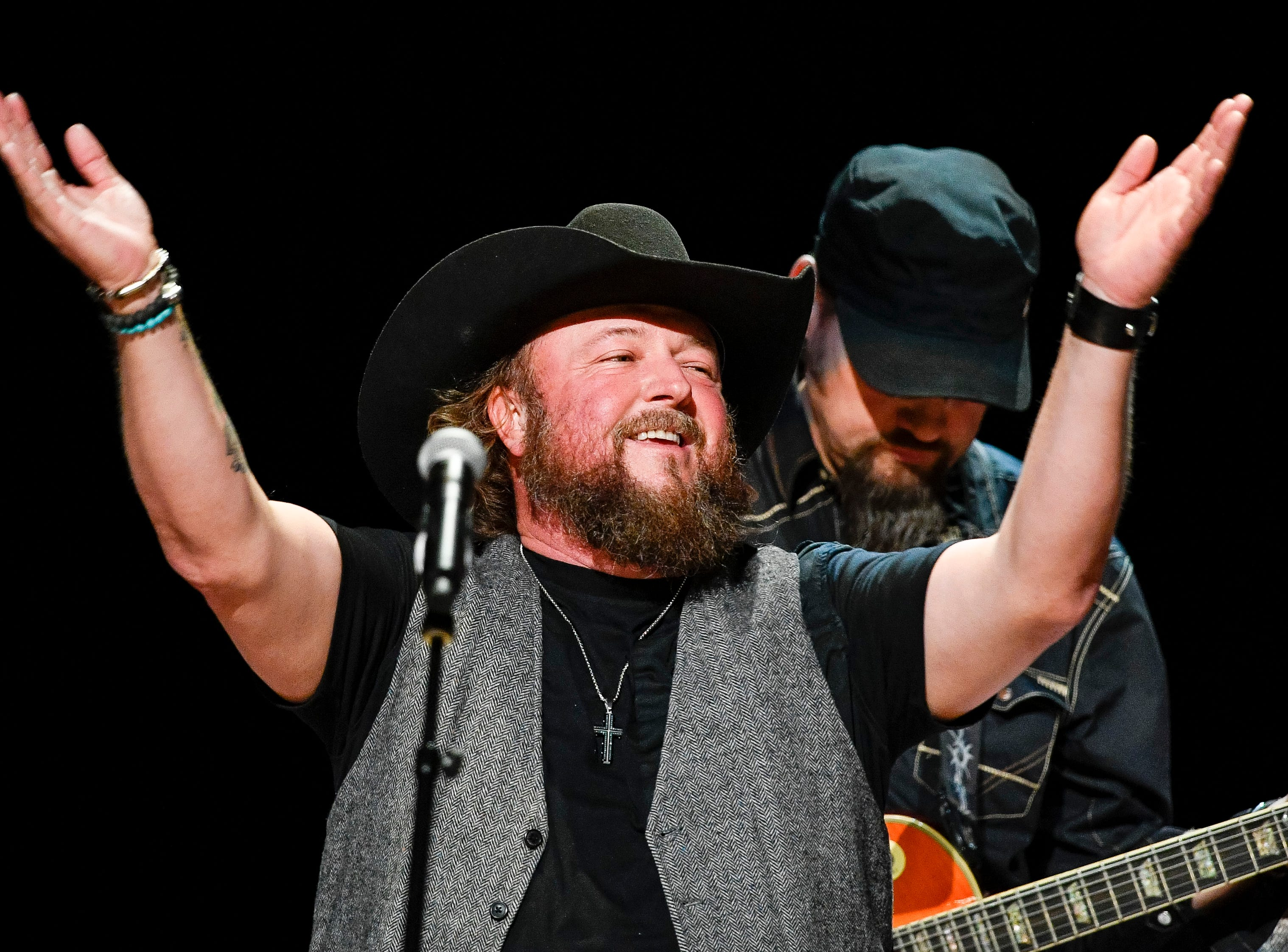 Colt Ford performs during the C'Ya On The Flipside Benefit Concert at the Grand Ole Opry House in Nashville, Tenn., Wednesday, Jan. 9, 2019.