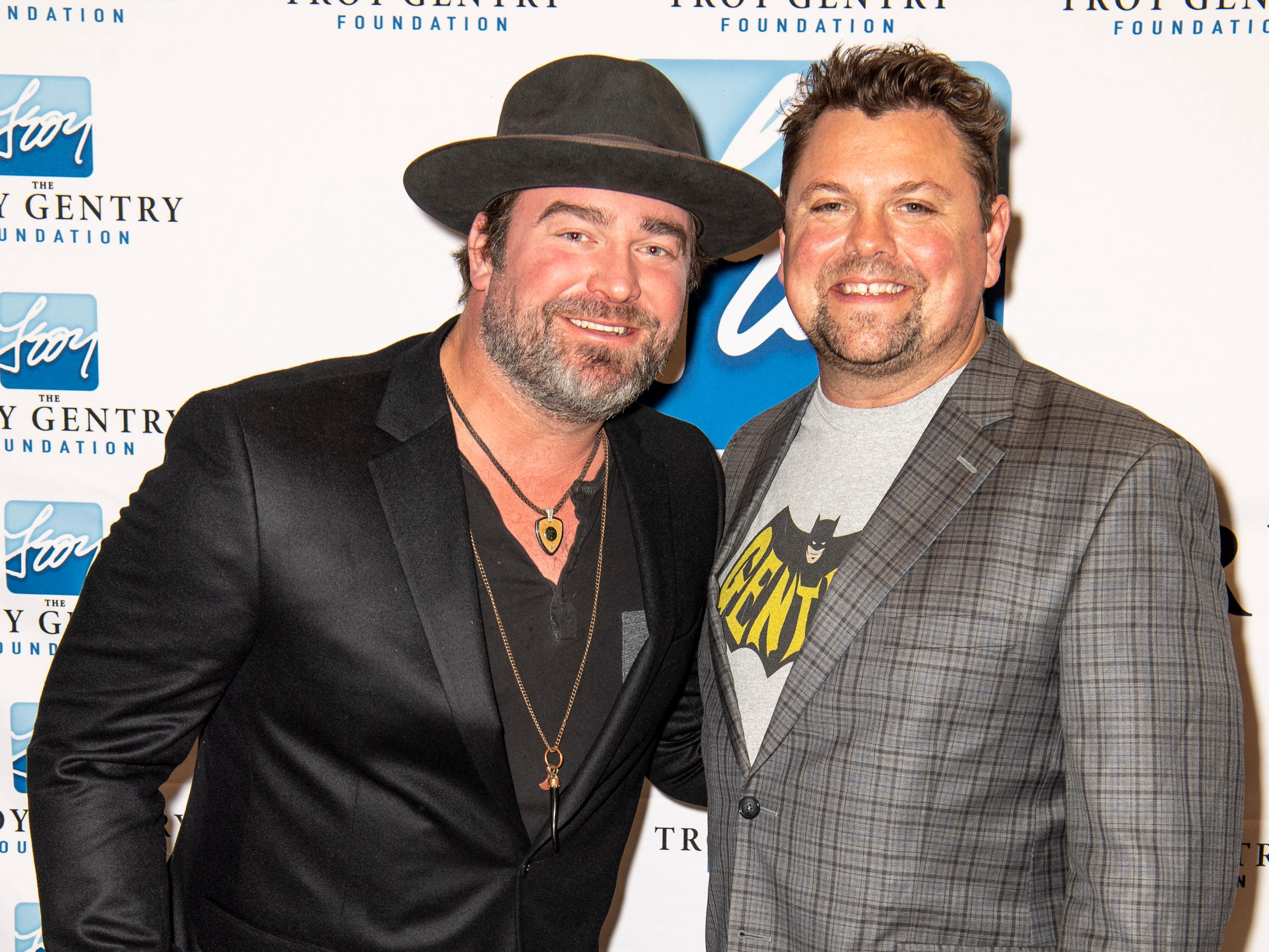 Lee Brice and Storme Warren on the red carpet before the C'Ya On The Flipside Benefit Concert at the Grand Ole Opry House in Nashville, Tenn., Wednesday, Jan. 9, 2019.