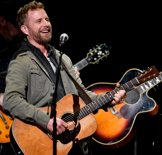 Dierks Bentley performs at the Grand Ole Opry House in Nashville, Tenn., in January. Bentley has announced a summer tour that includes a July 25 show at Blossom Music Center.