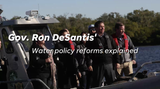 Ron DeSantis announced a major environmental reform Thursday, Jan. 10, 2019, in Bonita Springs.