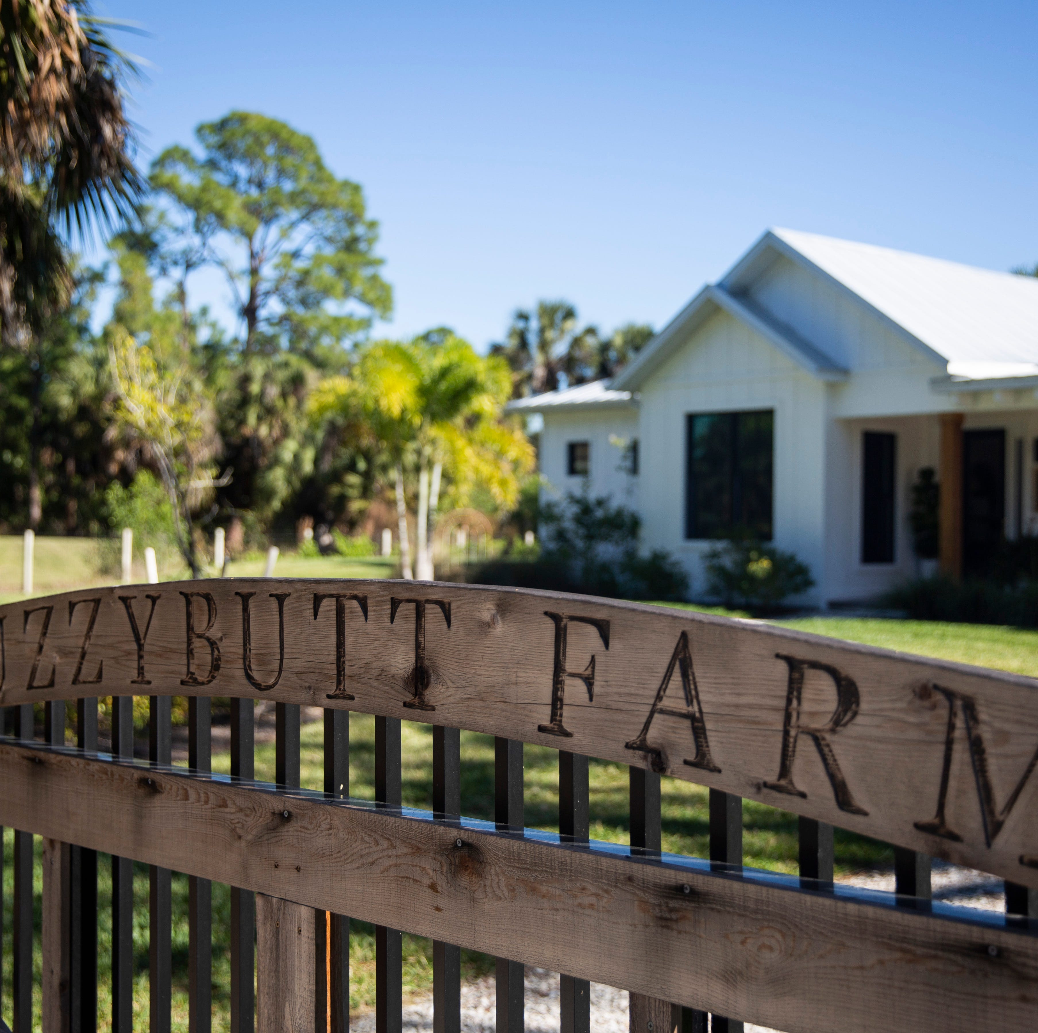 'Fuzzybutt Farm': Dream farmhouse designed by woman in East Naples