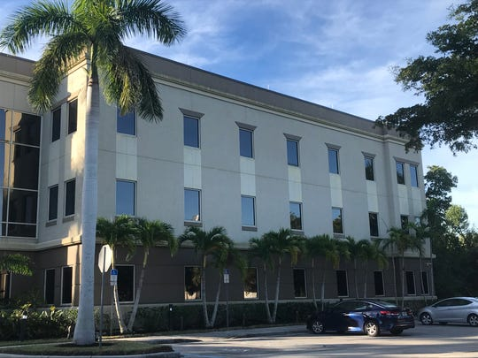 A New York-based investment adviser recently purchased the twin office buildings at 704-708 Goodlette Frank Road. One of the buildings is pictured here as it appeared on Dec. 24, 2018.