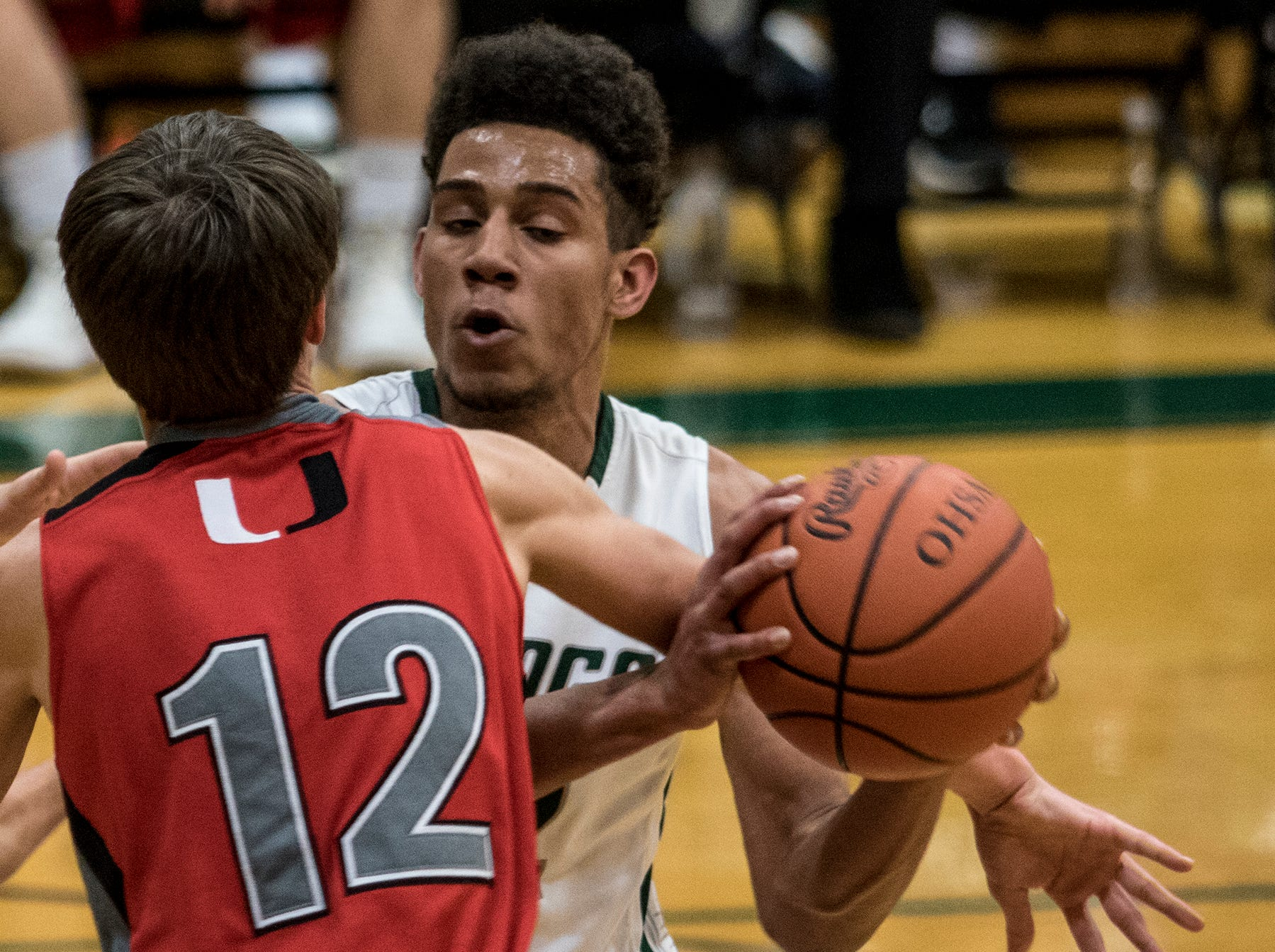 Northridge hosted Utica in an LCL game Wednesday night. The Vikings took the win over the Redskins 40-32.