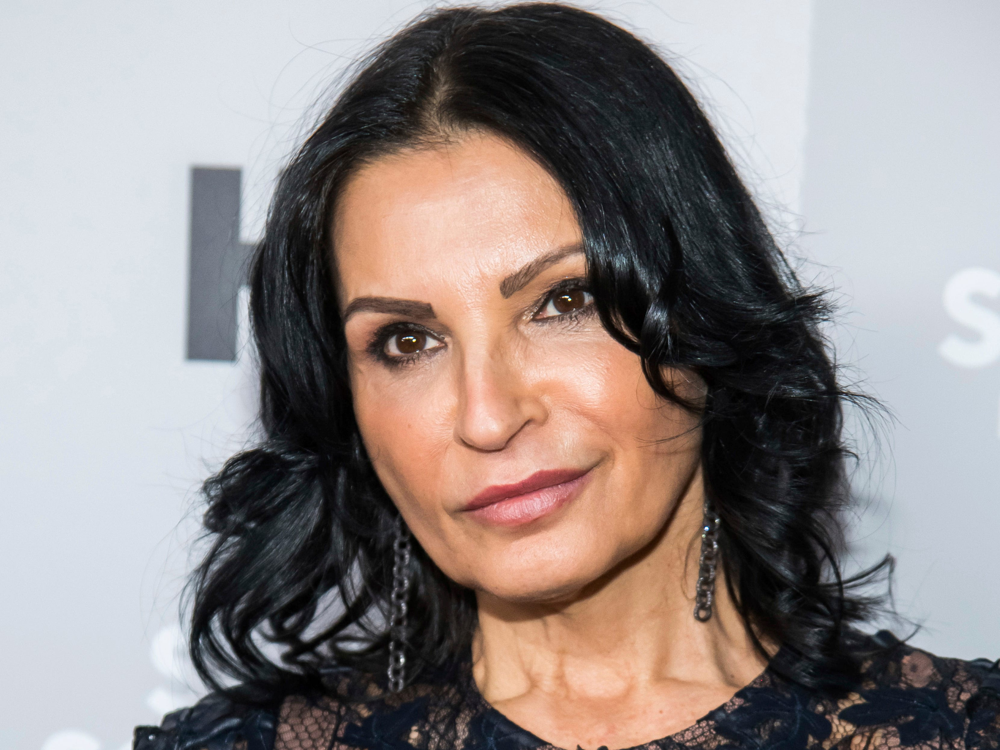 "Kathrine Narducci attends HBO's ""The Sopranos"" 20th anniversary at the SVA Theatre on Wednesday, Jan. 9, 2019, in New York. (Photo by Charles Sykes/Invision/AP)"