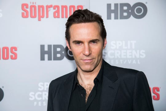 "Alessandro Nivola attends HBO's ""The Sopranos"" 20th anniversary at the SVA Theatre on Wednesday, Jan. 9, 2019, in New York. (Photo by Charles Sykes/Invision/AP)"