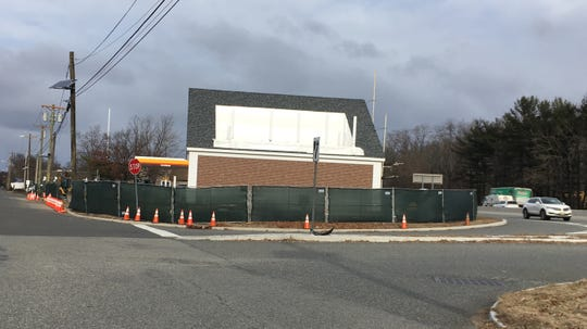 A Dunkin' Donuts is expected to open in spring on Route 17 south in Ridgewood.