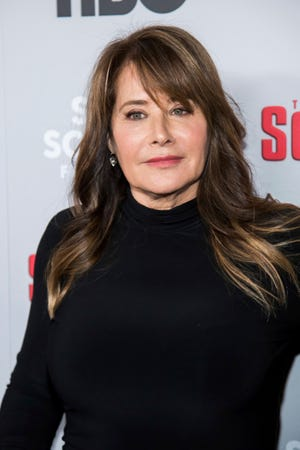 """Lorraine Bracco attends HBO's """"The Sopranos"""" 20th anniversary at the SVA Theatre on Wednesday, Jan. 9, 2019, in New York. (Photo by Charles Sykes/Invision/AP)"""