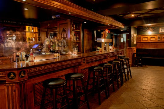 The Snug at The Fox & Falcon is the most like a traditional Irish pub.