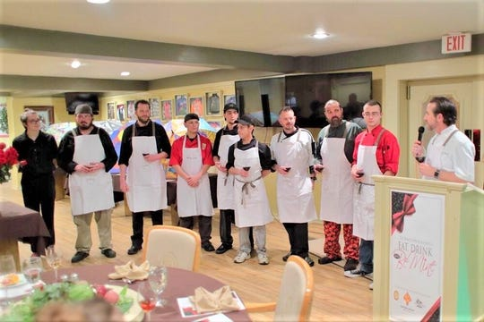 Chefs from the White Apron Society lend their culinary talents to many community events and projects.