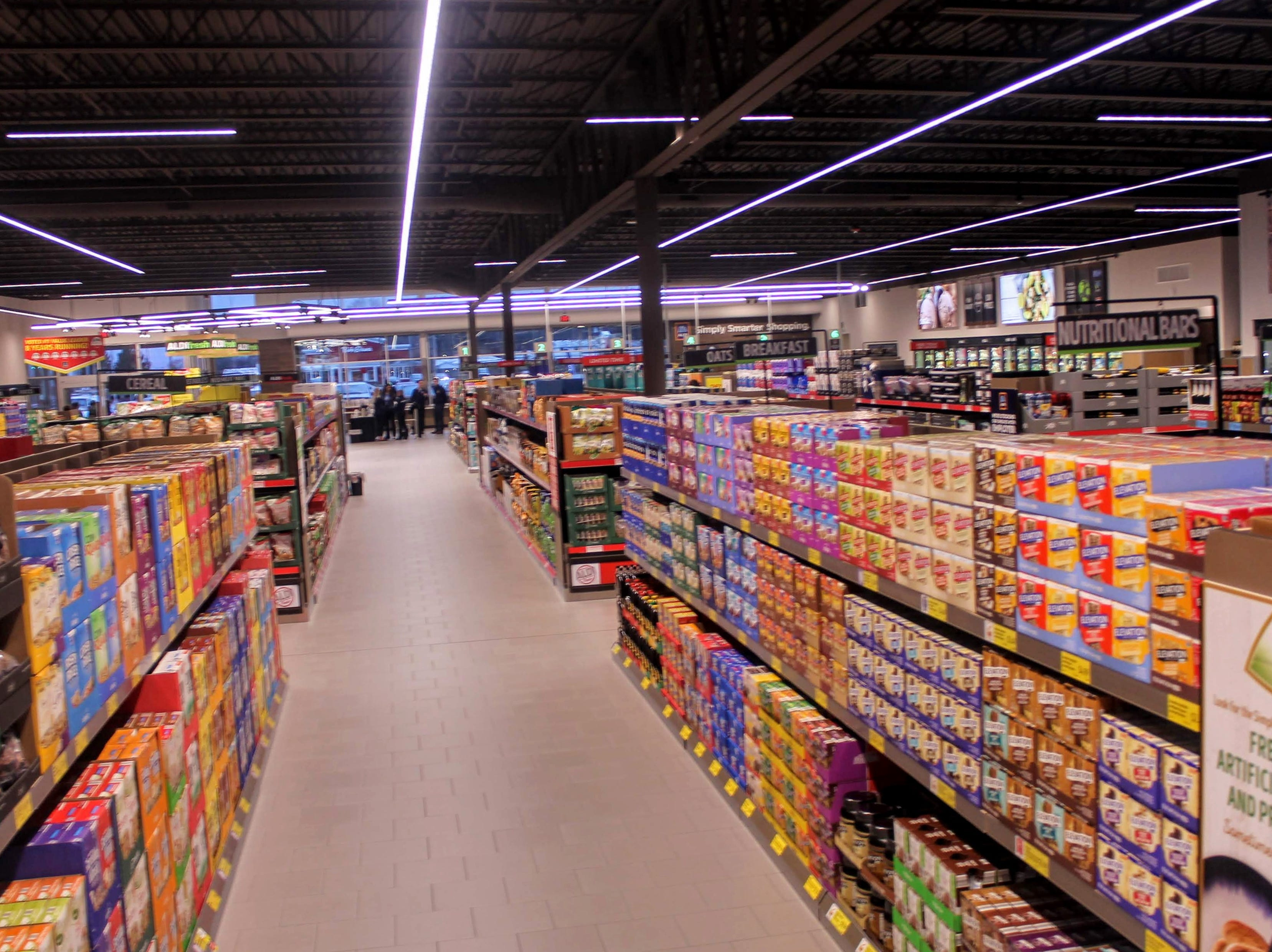 The inside of the 22,000 square foot store.