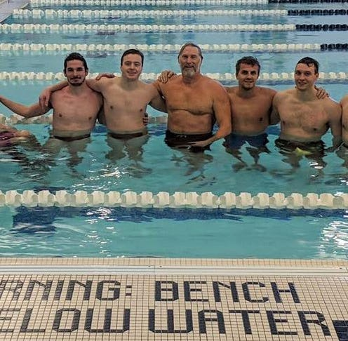 Harrison-Farmington swim alums turn back clock in annual reunion