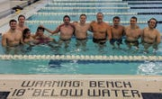 Alums from as far back as 1978 hit the pool for the seventh annual Harrison-Farmington reunion meet on Dec. 27 at Farmington High.